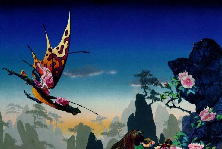 Roger Dean -Morning Dragon